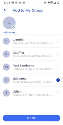 Screenshot - create group-1
